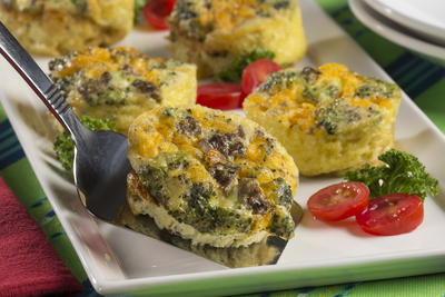 EDR Loaded Egg Muffins