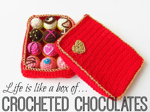Crochet Box of Chocolate