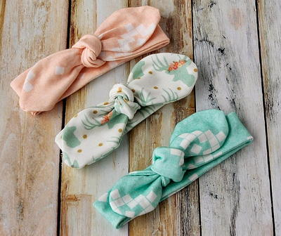 Toddler Bow Headband Sewing Pattern