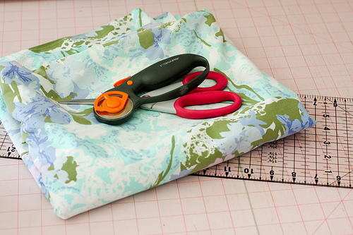 How to Cut Up a Vintage Sheet