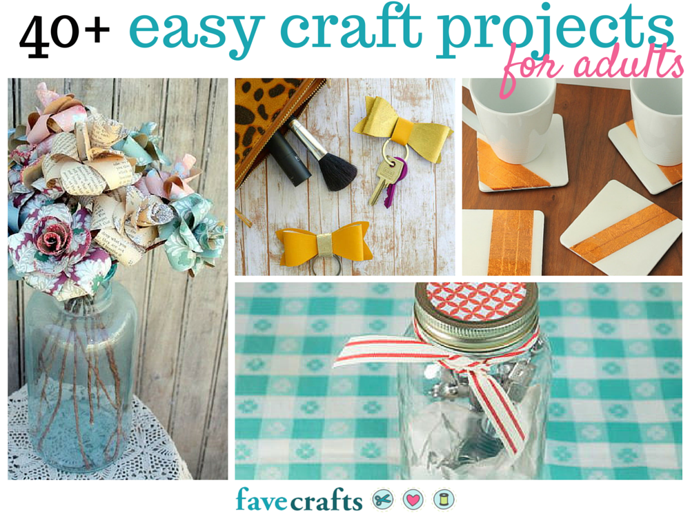 craft ideas adults 44 easy craft projects for adults favecrafts 1520