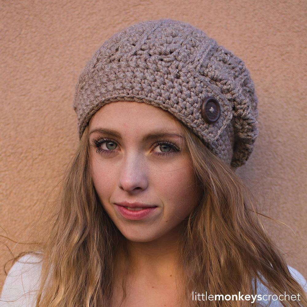 Rustic Slouch Hat | AllFreeCrochet.com