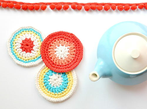 Modern Vintage Crochet Coasters Favecrafts