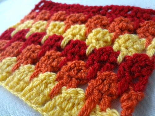 Larksfoot Crochet Stitch Allfreecrochet