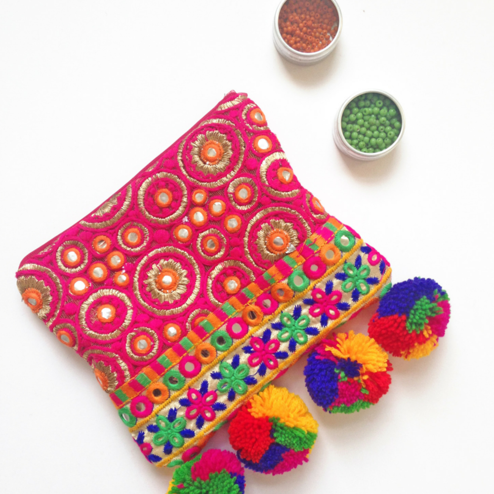 Simple boho clutch sewing pattern allfreesewing jeuxipadfo Gallery
