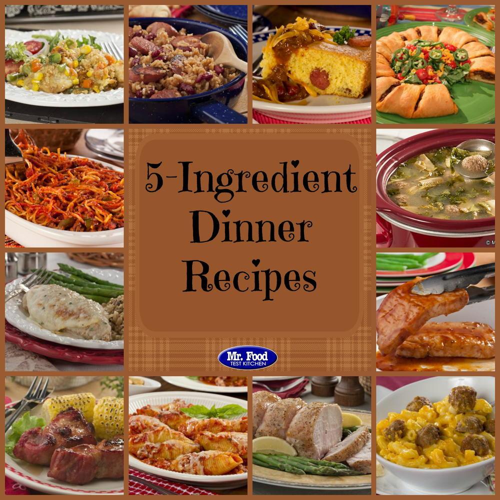 5-Ingredient Recipes: 39 Simple 5-Ingredient Dinners