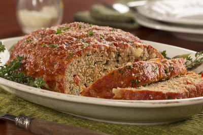 Turkey Meat Loaf Supreme