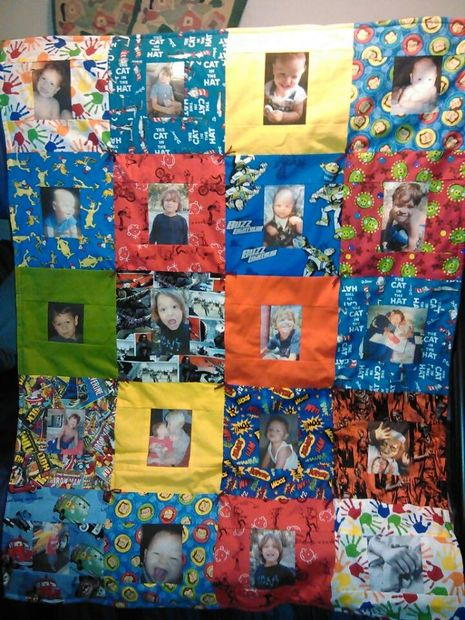 Precious Photo Memory Quilt Pattern Favequilts Com