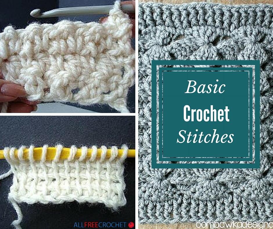 20 Basic Crochet Stitches Allfreecrochet Com