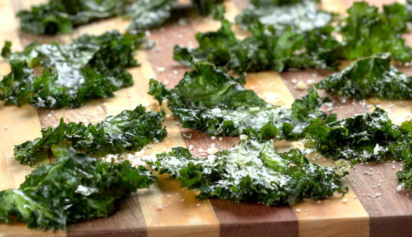 EDR Sea Salt Kale Chips