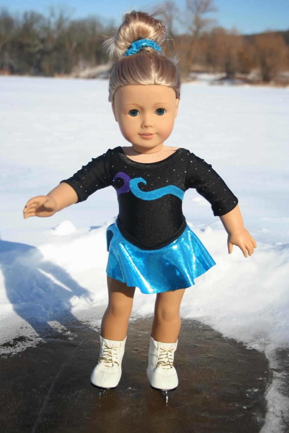 American Girl Ice Skating Uniform Allfreesewing Com