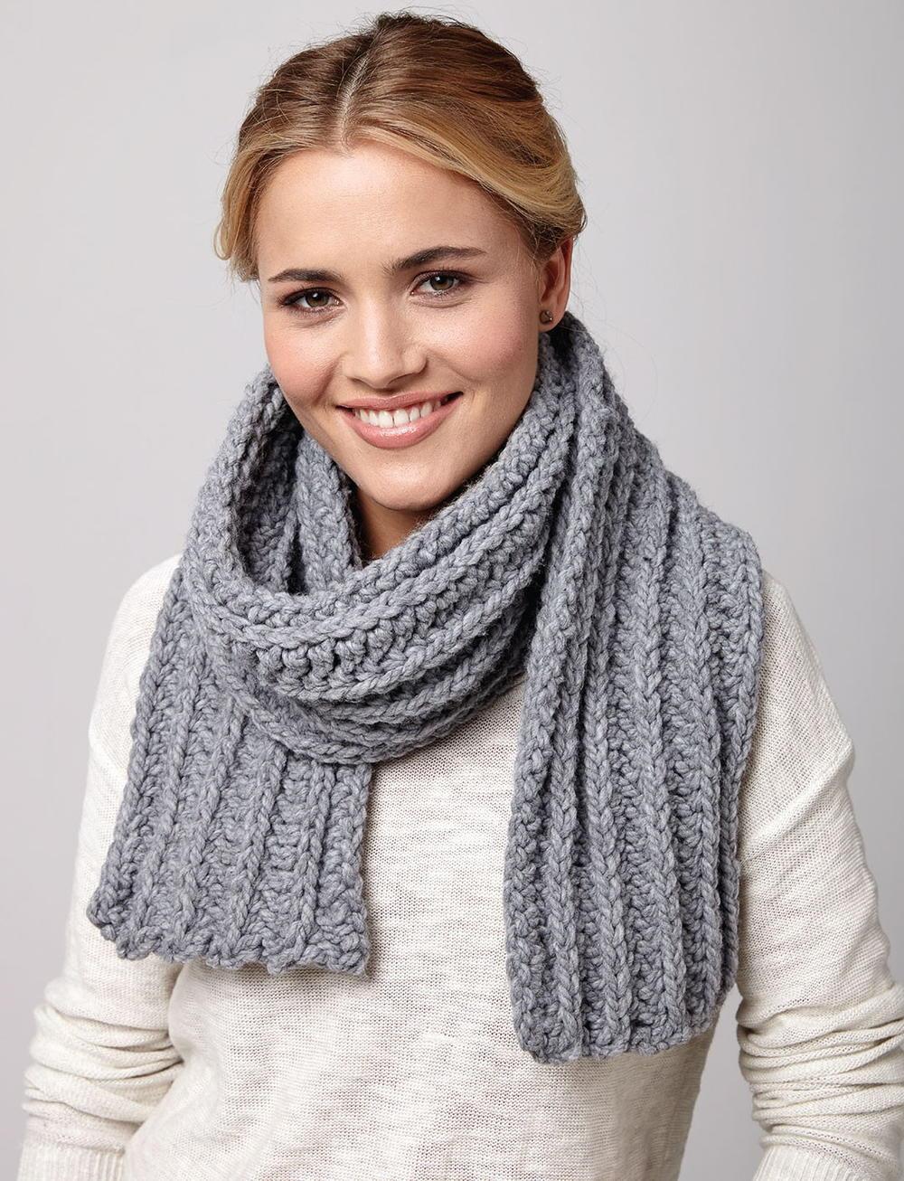 Winter Day Crochet Scarf | AllFreeCrochet.com