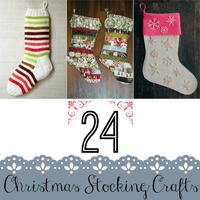 24 Christmas Stocking Crafts