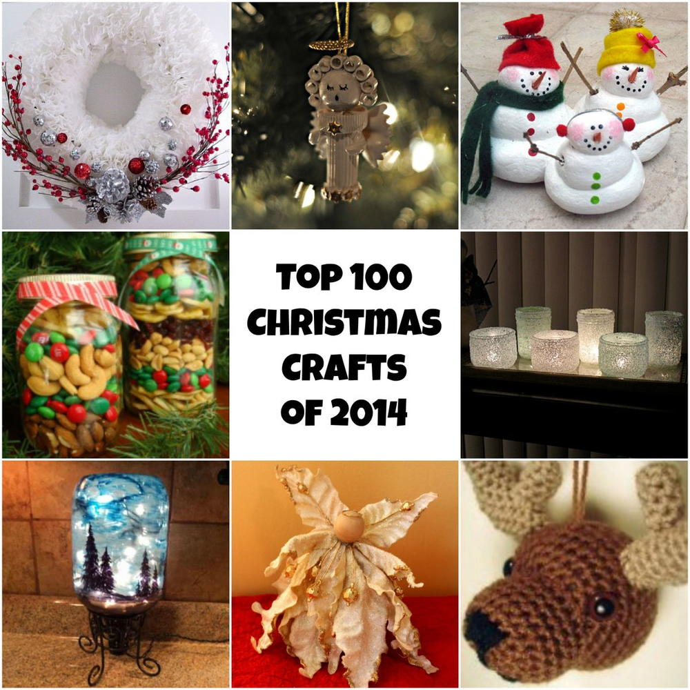 Homemade Decoration Ideas: Top 100 DIY Christmas Crafts Of 2014: Homemade Christmas