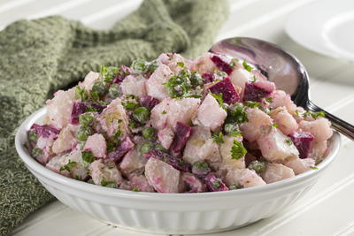 Un-Beet-Able Potato Salad