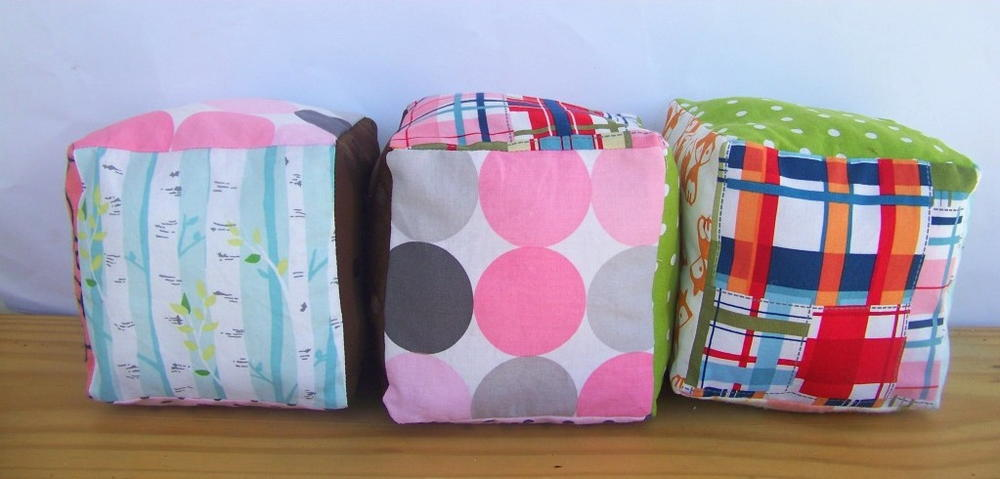 Fabric Baby Blocks Sewing Pattern | AllFreeSewing.com