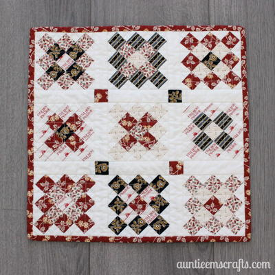 Granny Square Mini Quilt Sewing Pattern Allfreesewing