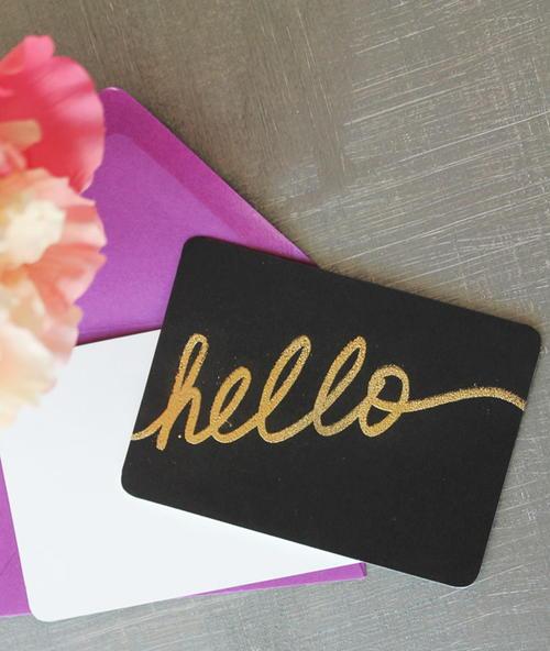 midas embossed notecards - Embossed Note Cards