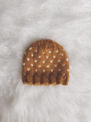 Flurries Knit Hat