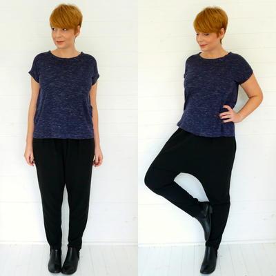DIY Harem Pants Sewing Pattern | AllFreeSewing.com
