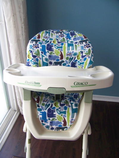 High Chair Cover Sewing Pattern | AllFreeSewing.com