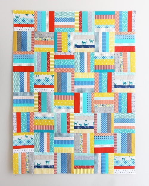 Early Bird Strip Quilt Pattern Favequilts