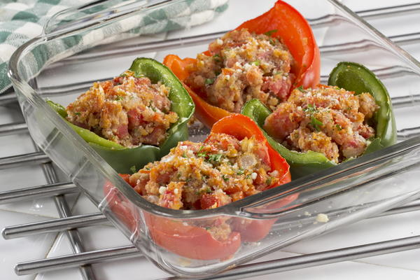 Greenhouse Stuffed Peppers