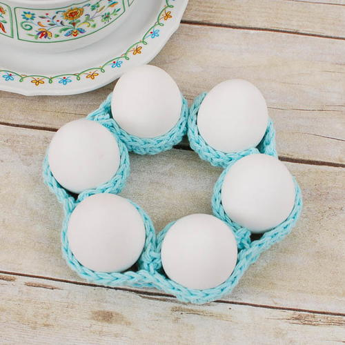 Easter Egg Crochet Cozy