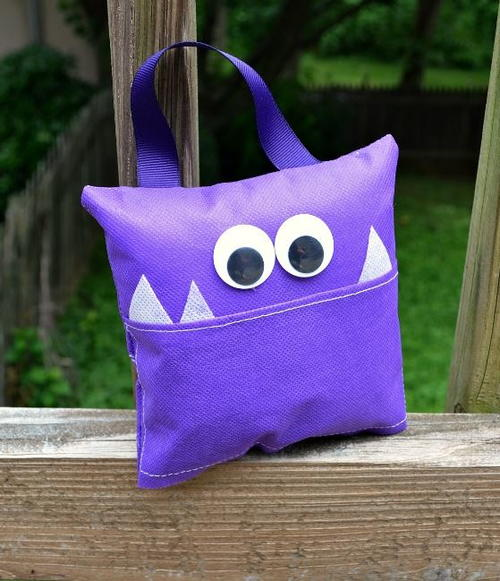 Monster Lost Tooth Pillow