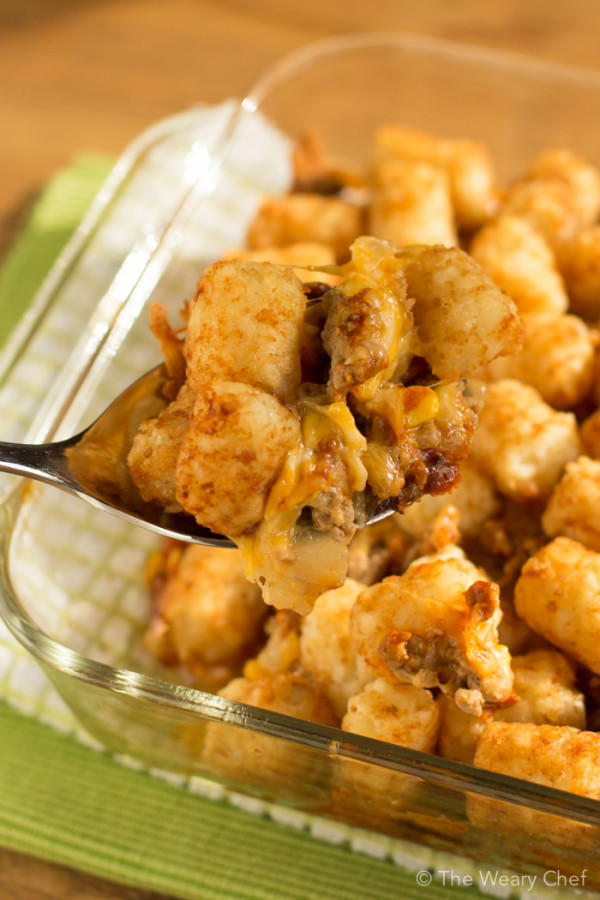 Church potluck recipes 19 best casseroles for a crowd recipelion easy bbq tater tot casserole forumfinder Choice Image