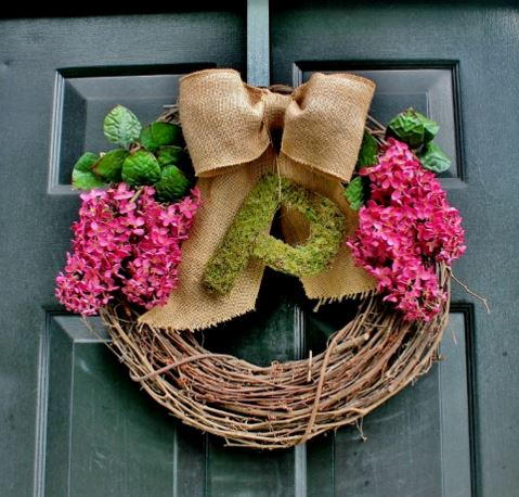 Easiest Summer Wreath