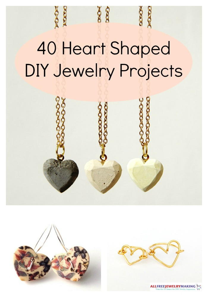 jewelry crafts ideas 40 shaped diy jewelry projects 2249