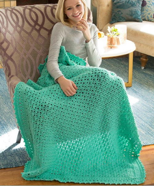 Staying Home Crochet Blanket