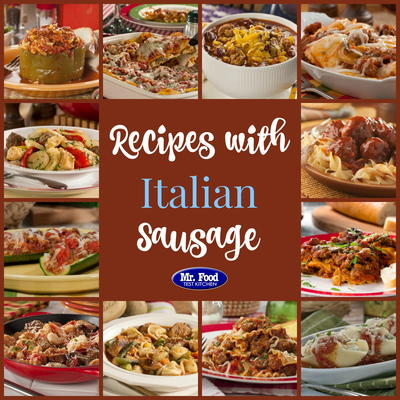 Incredible italian sausage recipes 19 recipes with sausage mrfood if youre tired of serving up chicken or beef every night for dinner its time to break out the italian sausage our latest recipe collection forumfinder Gallery