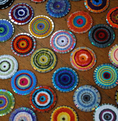 Spectacular CD Weaving Projects