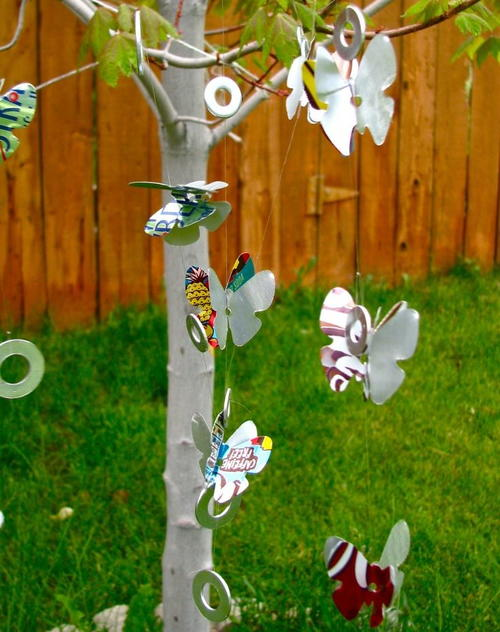 Soda Can Wind Chimes