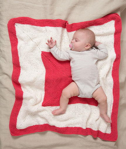 Hip to Be Square Baby Blanket