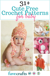 31+ Cute Free Crochet Patterns for Babies and 12 Crochet Toy Patterns