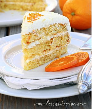 Mandarin Orange Cake with Dreamy Pineapple Frosting