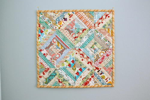 Enchanted Cottage Mini Quilt Pattern
