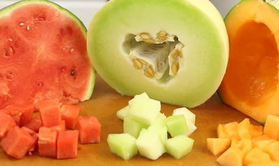 how to store cut cantaloupe