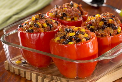 Sloppy Joes Stuffed Peppers