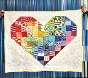 Heart of Art Quilt Pattern