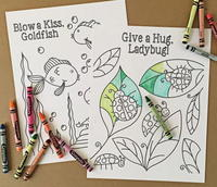 Coloring Pages for Kids: 10+ Shape, Educational, and Animal Coloring Pages