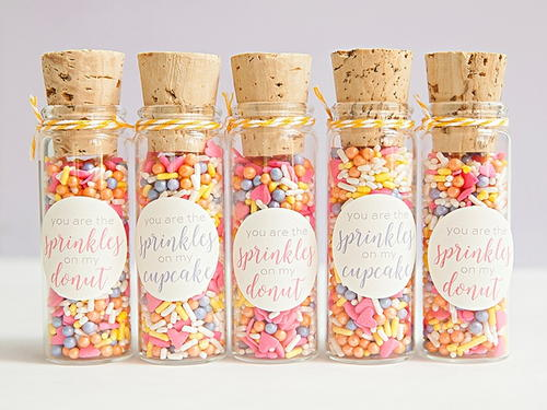 Sprinkled With Love Diy Wedding Favors Allfreediyweddings