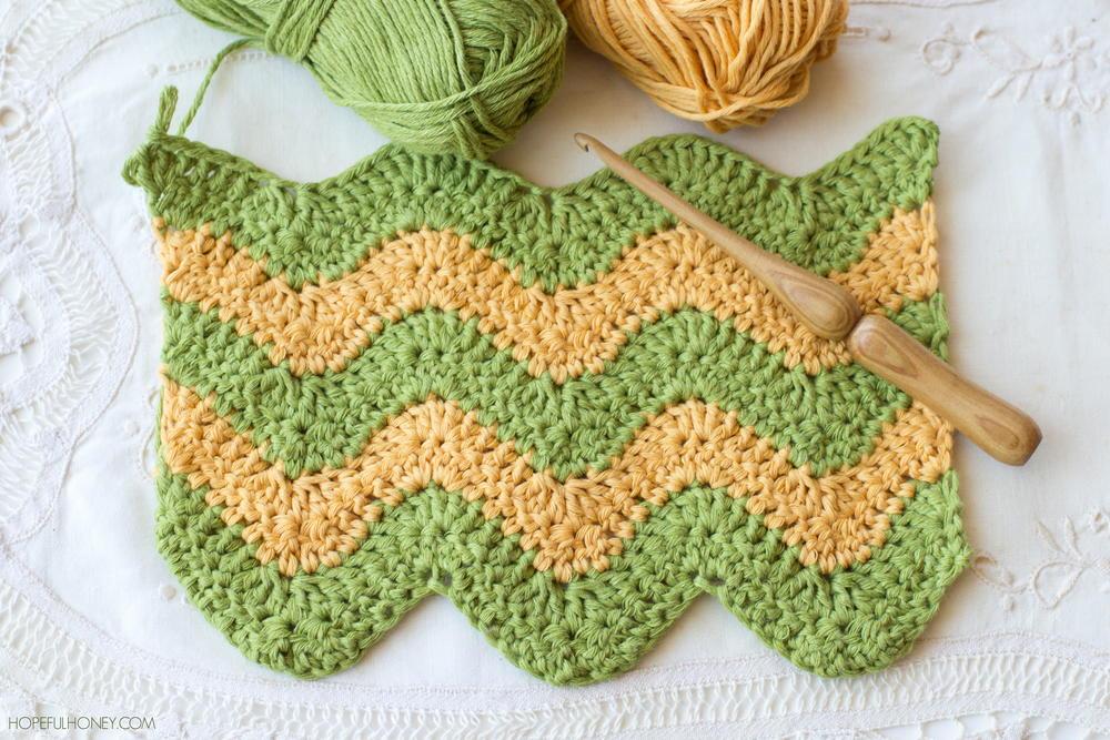 Learn To Crochet The Ripple Stitch Allfreecrochet