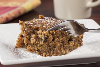 Flourless Applesauce Cake