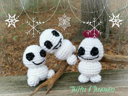 Snowbabies Crochet Toy Pattern Allfreecrochet