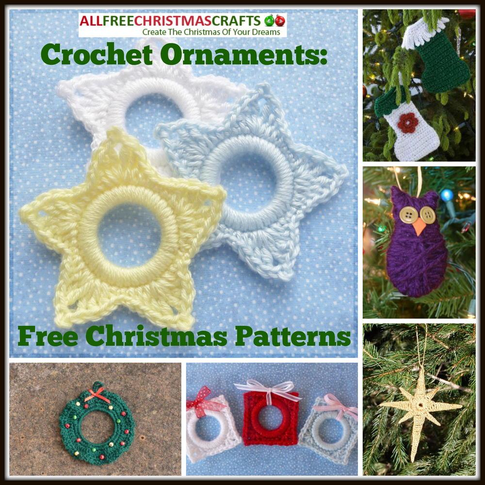 Crochet Ornaments 27 Free Christmas