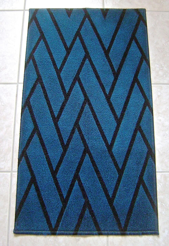 Herringbone DIY Painted Rug